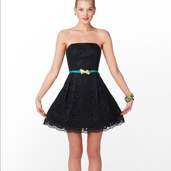 7d85deb196cd Lilly Pulitzer Dresses & Skirts - Lilly Pulitzer Marielle Strapless Dress  in Black